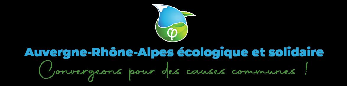 Auvergne-Rhône-Alpes écologique et solidaire